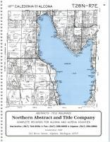 Caledonia T28N-R7E, Alcona County 1995